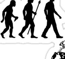 Funny Paleontologist Evolution  Sticker