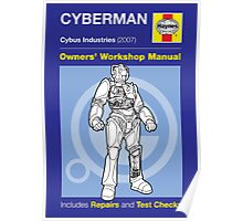 Haynes Manual - Cyberman - Poster & stickers Poster