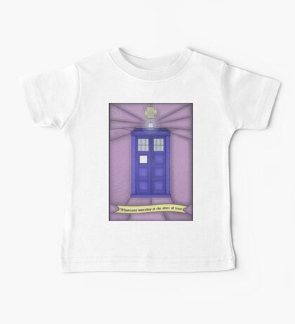 Whovian stained glass Baby Tee