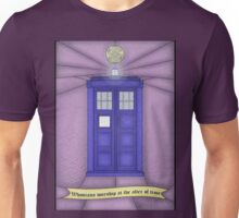 Whovian stained glass Unisex T-Shirt