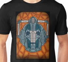 Cyberman stained glass Unisex T-Shirt