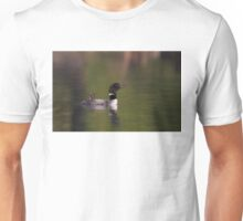 Wake-up call - Common loons Unisex T-Shirt