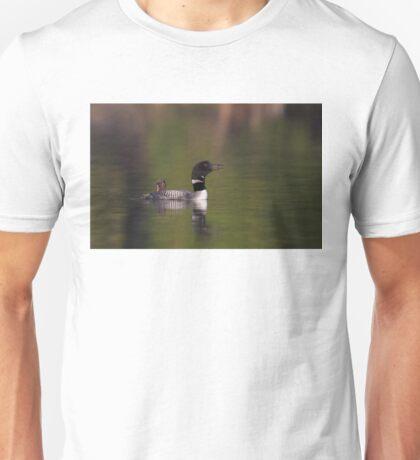 Wake-up call - Common loons T-Shirt