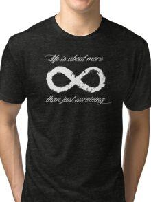 Life Infinite (Black) Tri-blend T-Shirt