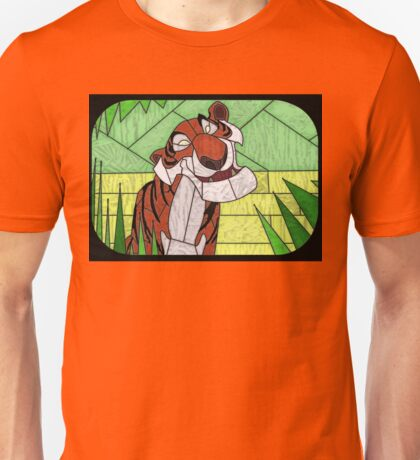 Old Stripy  - stained glass villains Unisex T-Shirt