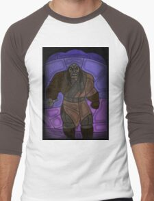 Warlord - stained glass villains Men's Baseball ¾ T-Shirt