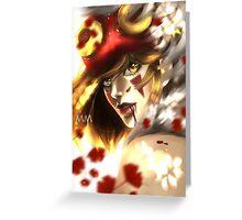 Princess Mononoke Greeting Card