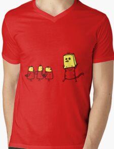 tactics cat Mens V-Neck T-Shirt