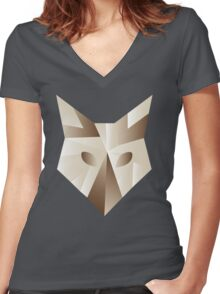 fownes Women's Fitted V-Neck T-Shirt
