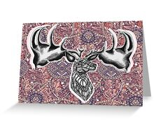 Irish Elk Greeting Card
