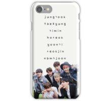 BTS phone case #14 iPhone Case/Skin