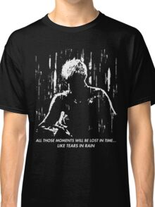 Blade Runner - Like Tears in Rain Classic T-Shirt
