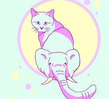 cat elephant by FandomizedRose