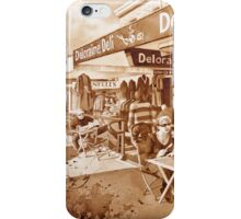 Cafe Scene iPhone Case/Skin
