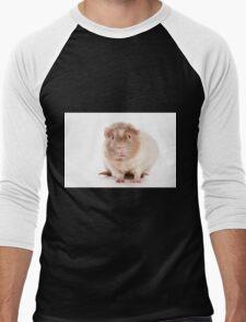 Sweet red guinea pig Men's Baseball ¾ T-Shirt