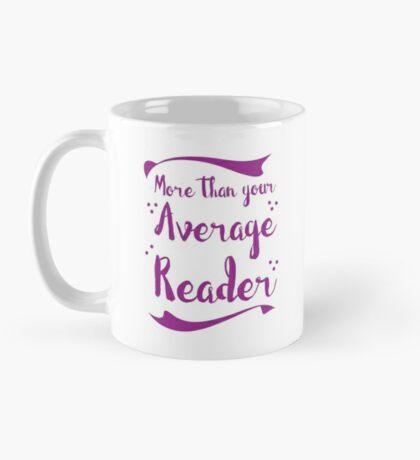 more than your average reader Mug