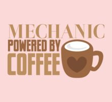 MECHANIC powered by coffee Kids Tee