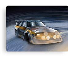 Audi Sport quattro S1 Group B Rally Car Canvas Print