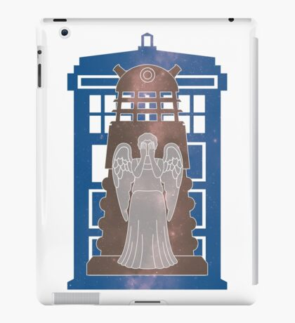 Doctor Who silhouettes iPad Case/Skin