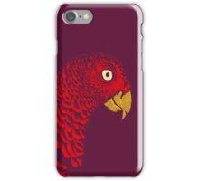 The Red Bird iPhone Case/Skin