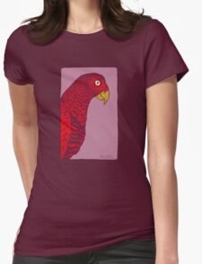The Red Bird Womens Fitted T-Shirt