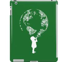 Earth Child (white) iPad Case/Skin