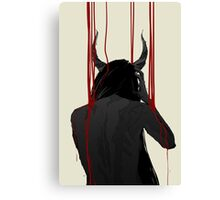 Satan's Mistress Canvas Print