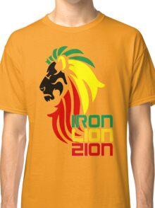 Reggae Rasta Iron, Lion, Zion 2 Classic T-Shirt
