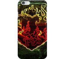 Heavy Metal Heart iPhone Case/Skin