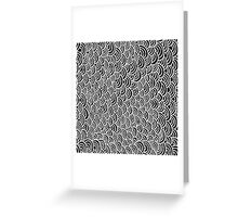 Scale seamless pattern Greeting Card