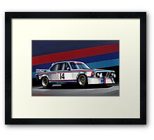 BMW 3.0 CSL Group 2 Competition Coupe (E9) Framed Print