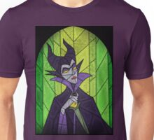 Evil fairy?! - stained glass villains Unisex T-Shirt