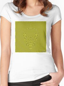DEADLY DAZZLES Women's Fitted Scoop T-Shirt