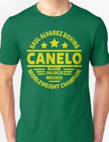 Saul Canelo Alvarez Boxing Unisex T-Shirt