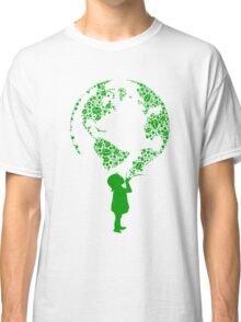 Earth Child (green) Classic T-Shirt