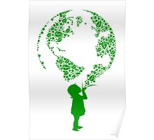 Earth Child (green) Poster