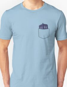 Pocket Protector - Tardis Unisex T-Shirt
