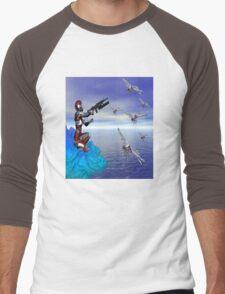 Alien Planet Men's Baseball ¾ T-Shirt