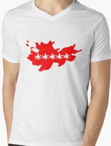 Sakura the Hacker Mens V-Neck T-Shirt