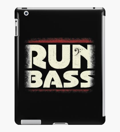 Run Bass iPad Case/Skin