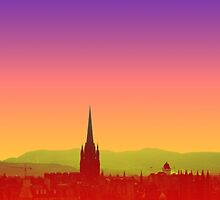 Edinburgh Skyline by Siegeworks .