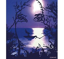 TWILIGHT FACE Photographic Print