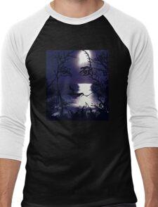 TWILIGHT FACE Men's Baseball ¾ T-Shirt