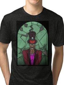 Voodoo Doctor - stained glass villains Tri-blend T-Shirt