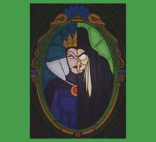 Mirror mirror - stained glass villains Baby Tee