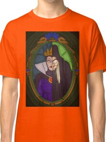 Mirror mirror - stained glass villains Classic T-Shirt
