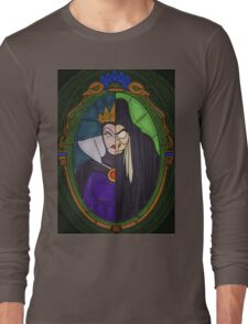 Mirror mirror - stained glass villains Long Sleeve T-Shirt