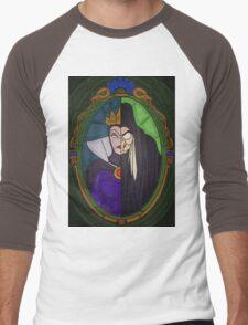 Mirror mirror - stained glass villains Men's Baseball ¾ T-Shirt