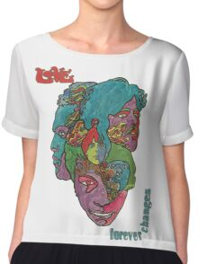 Love - Forever Changes + Logo Chiffon Top