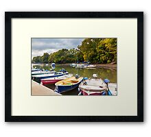 Stoke Gabriel Devon Framed Print
